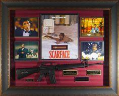 Scarface collector artwork - Hollywood Movie Memorabilia - Millionaire Gallery
