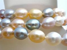 Honora Freshwater Pink Pearl Necklace Sterling Silver Multi Color New with Tags | eBay