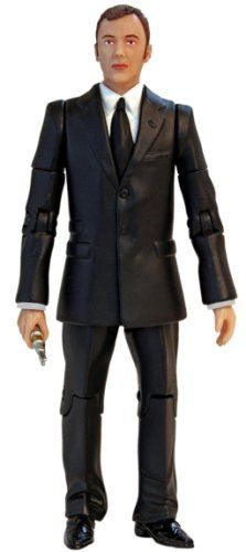 """AmazonSmile: Doctor Who Series 3: The Master- 5"""" Poseable Action Figure: Toys & Games"""