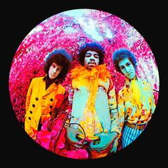 Karl Ferris first started experimenting with colour and different types of lenses after Jimi Hendrix invited him to shoot a US version of his album 'Are You Experienced'. Ferris used a giant Nikon fisheye lens and a secret infrared film that had just been released by the military. The Jimi Hendrix Experience used this image for the cover of 'Are You Experienced'.