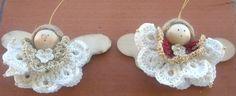 Angioletti di Giovanna.. all'uncinetto - descrizione