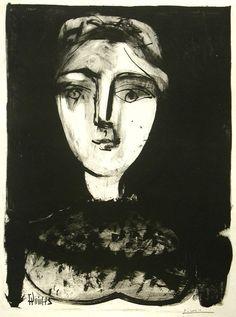 Tete de Jeune Femme - Pablo Picasso.