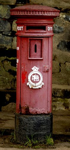 Srilanka postbox by David G-H, via Flickr #VisitSriLanka #lka