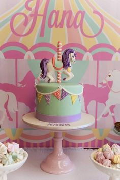 Party Inspirations: Carousel Party by Mon Soiree