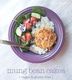 mung bean cakes   Pure Ella