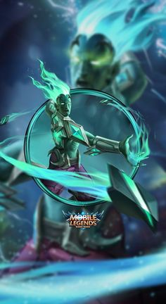 Wallpaper Phone Hylos Abyssal Shaman by FachriFHR on DeviantArt Miya Mobile Legends, Moba Legends, Mobile Legend Wallpaper, Wall Paper Phone, King Of Fighters, Poker Online, Room Pictures, Malang, Super Powers