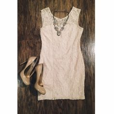 SALE Beautiful Embellished Lace Dress •|| Forever21 Cream Sweetheart Lace Bodycon Sleeveless Dress ||• Floral lace pattern, has a slip underneath, deep V neckline in back with a zipper         - Dress is cream/off-white (last photos show the same dress in black and red; used for modeling only)  SPRING CLEANING CLOSET SALE! BUNDLE AND SAVE EVEN MORE!!  ‼️BUNDLE DISCOUNTS‼️ • 2+ items = 1⃣5⃣%  • 3+ items = 2⃣0⃣% • 4+ items = 3⃣0⃣% Forever 21 Dresses Mini