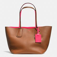 The C.o.a.c.h. Taxi Tote In Double Faced Pebble Leather from Coach - yes yes yes