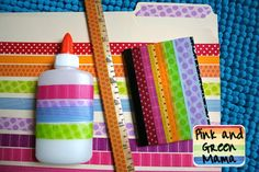 Pink and Green Mama: Head Back to School with 5 Creative Ways to Personalize and Organize Your New School Year! #Michaelsbts
