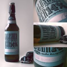 Retro Beer Packaging | #packaging #bottledesign #beer
