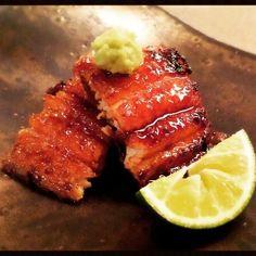 #yummy #succulent #puffy #unagi #grilled #eels at #Modern #kaiseki #restaurant #Mutsukari in #ginza #tokyo #japan. #foodjournal #foodpornography #foodporn #ilovetraveling #ilovefood by cardinc2004