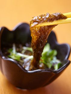Mozuku Su, Noodle-like Seaweeds in Light Vinaigrette Sauce, as Japanese Cuisine Starter or Home Side Dish|もずく酢