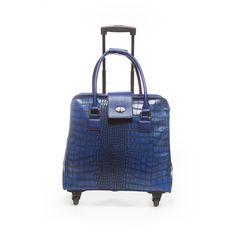 Blue Croc Crush 360 Roller (1,465 HKD) ❤ liked on Polyvore