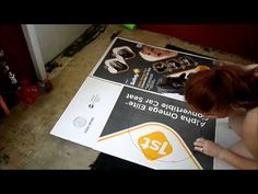 How To Make Your Own Hexagon Stencil - YouTube