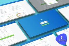Task Management UI Kit by Konnstantinc on @creativemarket