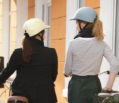 Hair-friendly Bicycle Helmet | by radkappe | #AllThatIWant
