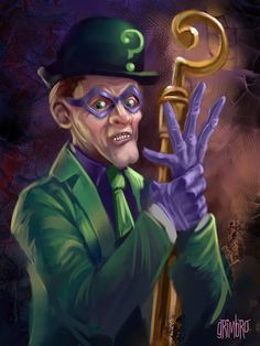 13 Nights 2008 RIDDLER by ~Grimbro
