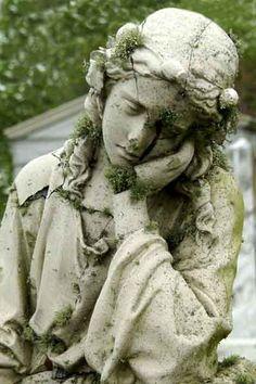 *~Pondering Stone Statue~*