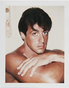Andy Warhol, SYLVESTER STALLONE. ©The Andy Warhol Foundation for the Visual Arts, Inc/ Danziger Gallery