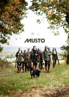British style Musto day out.