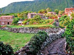 Aldeia da Cuada, Flores - Azores, Portugal
