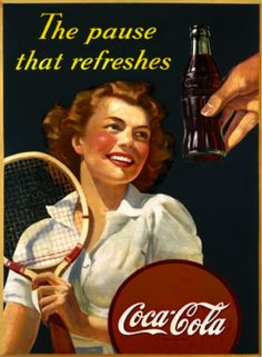 Coke Tennis Player
