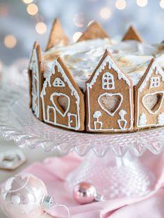 Suklainen Piparkakku-juustokakku (liivatteeton) Food And Drink, Christmas, Xmas, Weihnachten, Navidad, Yule, Noel, Kerst