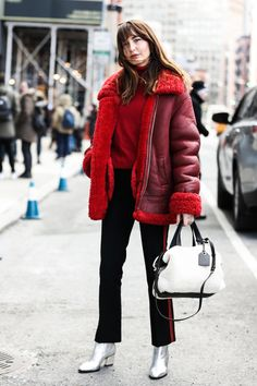 fwah2016 Street looks a la Fashion Week automne-hiver 2016-2017 de New York 58