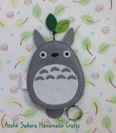 Esconde Chave Totorô #Keychain #Totoro #felttotoro
