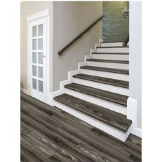 Decorating Beautiful Staircases Is Easy 1x6 Baseboard