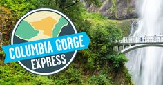 The Columbia Gorge Express, the easy way to Multnomah Falls, Oregon Oregon Vacation, Oregon Travel, Downtown Portland, Portland Oregon, Seattle, Cascade Locks, Multnomah Falls, Weekend Activities, Round Trip