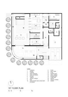 Casa S+I,Planta 1