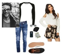 """""""Untitled #179"""" by nikkirozaye ❤ liked on Polyvore featuring Dsquared2, Jack & Jones, Forever 21, Ray-Ban, Moshi, American Coin Treasures, Topman, men's fashion and menswear"""