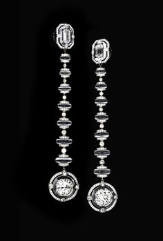 Wallace Chan unique earrings