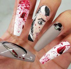 Halloween Nails, Beauty, Beauty Illustration