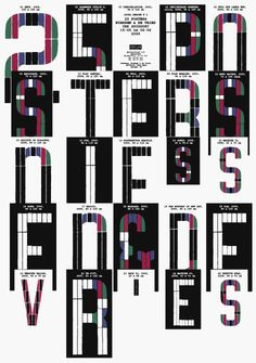 manystuff.org – Graphic Design, Art, Publishing, Curating… » Blog Archive » 25 posters Niessen & De Vries