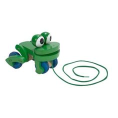 Melissa & Doug Frolicking Frog Pull Toy.Opens in a new window