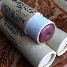 bdf0155ec71 Vegan Lip Gloss – Boysenberry – Big 0.33 ounce Compostable Plastic Free  Cardboard Packaging
