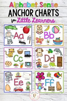 Alphabet Anchor Charts for Little Learners Plus Silent /e/ Long Vowels Teaching The Alphabet, Kindergarten Activities, Preschool Literacy, Kindergarten Writing, Early Literacy, Abc Chart, Teaching Resources, Teaching Ideas, Primary Resources