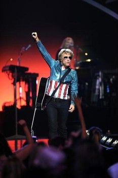bon jovi because we can tour chicago | Singer Jon Bon Jovi of Bon Jovi performs onstage during the 2012 ...