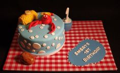 Crawfish Boil First Birthday Cake by wickedcakechick, via Flickr