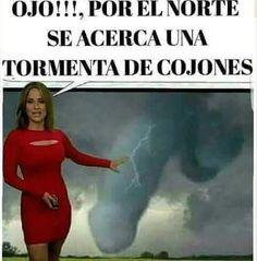 Se acerca una tormenta de...