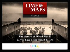 TIMEMAPS World War 2 – Interactive History Maps, Battles and Key Characters Follow step by step the development of the bloodiest conflict in the history of humanity: from the rise of Hitler in Germany to Hiroshima and Nagasaki, discover the causes, the key personalities and the decisive events of the war. A struggle between good and evil that led to the whole world entering a horrific war that we must never forget.  A digital atlas 123MB