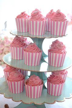 Cupcakes till min dotters dop