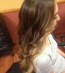 Megan Lenton - Hair Stylist . Makeup Artist | SALON WORK #ombre #balayage #sombre