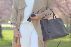 Prada saffiano bag black