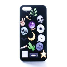 Grunge Emojis Case