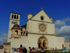 Basilica of Santa Maria degli Angeli (Saint Mary of the Angels) -  a church situated  at the foot of the hill of Assisi, Italy. It is the seventh largest church in the world. It is important because it was the initial nucleus from which the Franciscan order was born. - See more at: http://www.vivisrandomramblings.com/2011/12/medieval-town-of-assisi.html#sthash.u6aUv0Po.dpuf