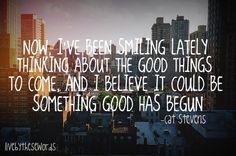 Lyrics: Cat Stevens