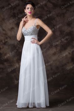Ball Pageant Banquet Wedding Prom Homecoming Dress Party Cocktail Evening gowns  #GraceKarin #BallGown #Cocktail